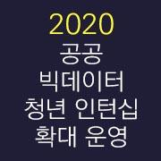 [2020 공공 빅데이터 청년 인턴십 확대 운영] 3일차/8월 26일 진행_R 프로그래밍 이해