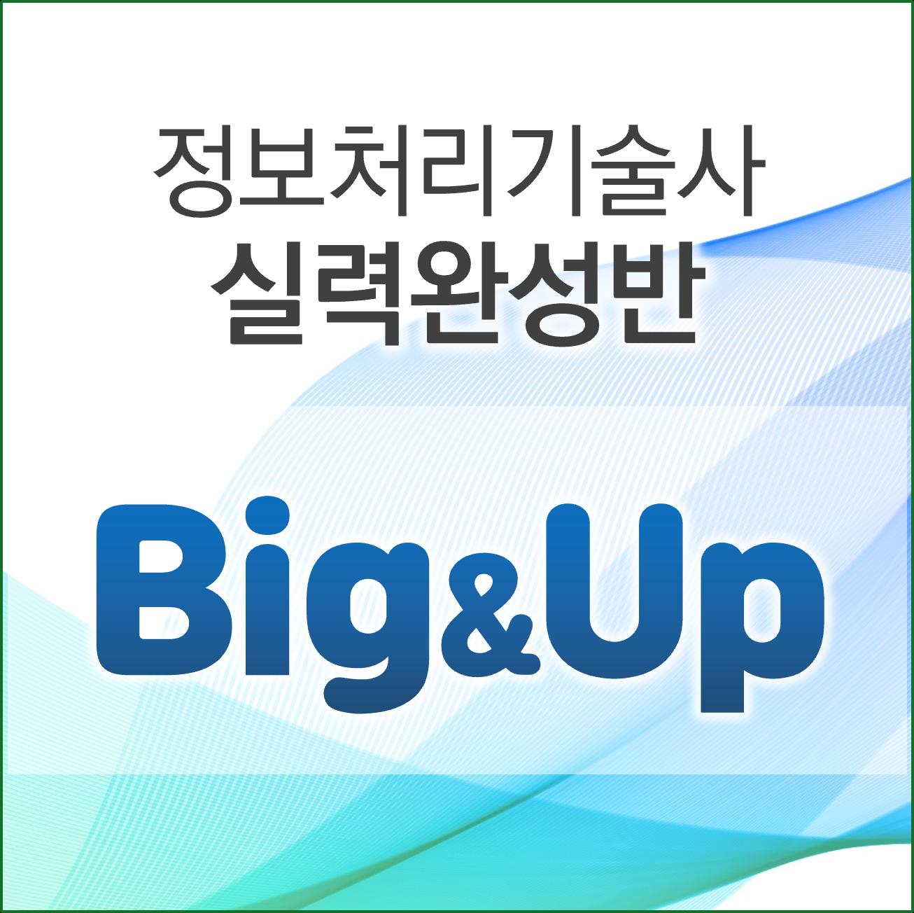 [정보처리기술사-실력완성] 빅업반(최우슬PE)
